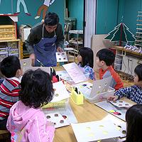 小中学生の工作教室写真