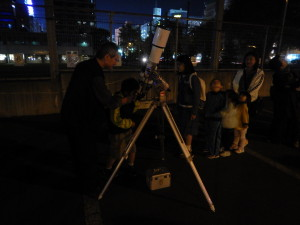 天文指導員活動写真
