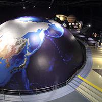 天文・地球科学コーナー写真