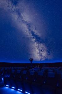 プラネタリウムの写真