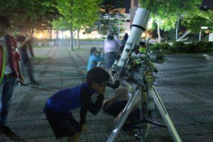 天体観望会の写真