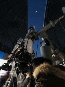 天文台大型望遠今日