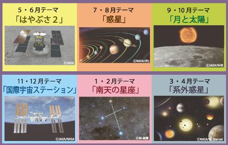 今日の星空2019年度のテーマ