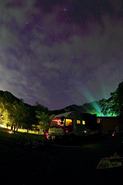 定山渓での天体観望会のイメージ写真