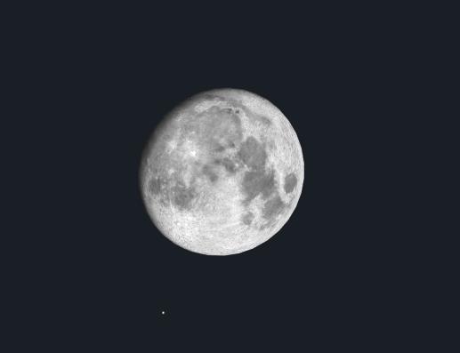 2019年十三夜の月