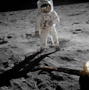月面着陸の様子