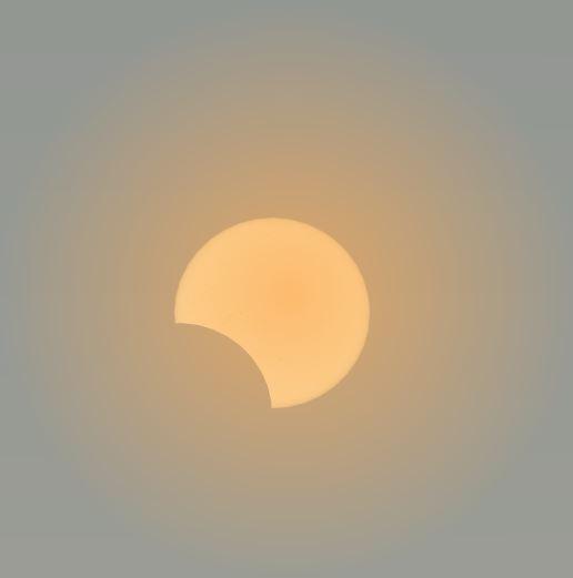 2019,12,26の日食イメージ