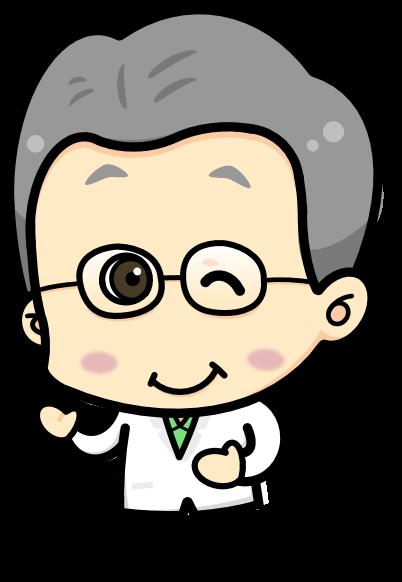 実験室の本間先生